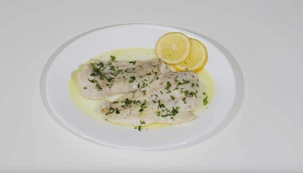Merluza, merluza al limon, merluza con limon, pescado, pescado en la freidora sin aceite, merluza en la freidora sin aceite, pescado